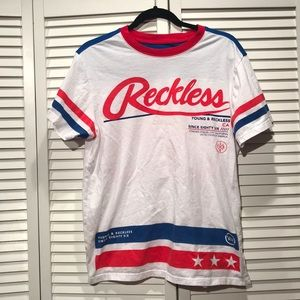 Young and Reckless 86 tee shirt